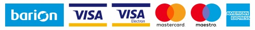 Elérhető barionos fizetés és kártyás fizetés